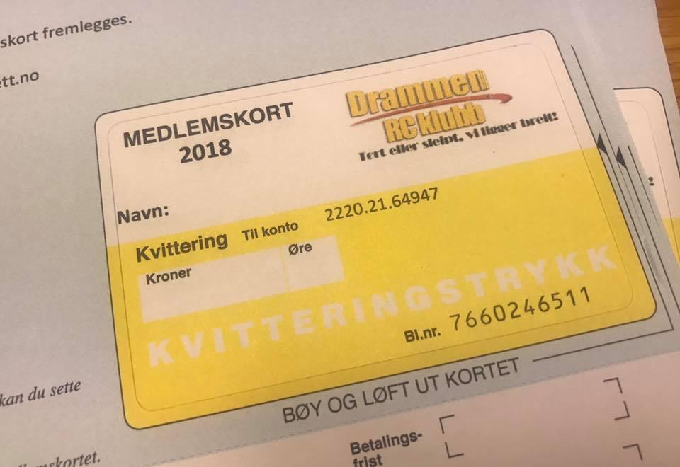 Drammen RC-Klubb 2018